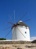 Windmill. Mykonos, Greece stock photos