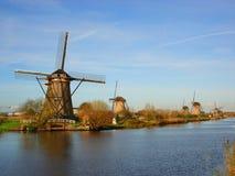 windmill Royaltyfria Bilder