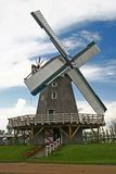 Windmill. A windmill at the mennonite heritage village museum in steinbach manitoba canada royalty free stock image