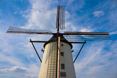 Windmill. Against nice blue sky Stock Photos