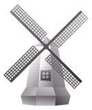 windmill stock illustrationer