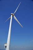Windmill against blue sky. Photo of windmill against blue sky Royalty Free Stock Photos