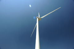 Windmill against blue sky. Photo of windmill against blue sky Stock Photography