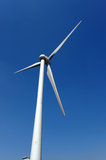 Windmill against blue sky. Photo of windmill against blue sky Stock Images