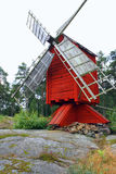 Windmill in Aland Royalty Free Stock Image