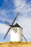 Windmill in Alcazar de San Juan Royalty Free Stock Photo