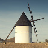 Windmill Almeria province,Andalusia Spain Royalty Free Stock Images