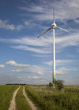 Windmill, alternative energy Royalty Free Stock Image