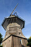 Windmill in Amsterdam Stock Photography