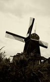 Windmill in Amsterdam. Holland Royalty Free Stock Photography