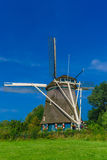 Windmill in Amsterdam, Holland, Netherlands Stock Photography