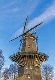 Windmill in Amsterdam Royalty Free Stock Image