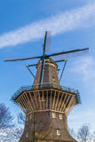 Windmill in Amsterdam Royalty Free Stock Photo