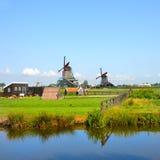 Windmill amsterdam Royalty Free Stock Photo