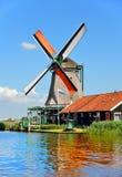 Windmill amsterdam Stock Image