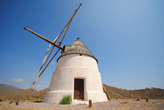 Windmill, Andalusia, Spain Stock Image