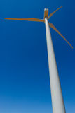 Windmill. Angle shot of a wind generator Stock Photos