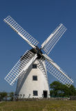 Windmill in Anglesey, Wales Stock Images
