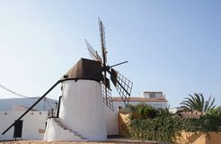 Windmill of Antigua Stock Photo