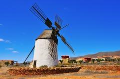 Windmill in Antigua, Fuerteventura, Canary Islands, Spain Royalty Free Stock Photos