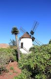 Windmill of Antigua (Molino de Antigua). Fuerteventura, Canary Islands, Spain. Antigua (Spanish meaning ancient) is a Canarian municipality in the central and Stock Image