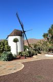 Windmill of Antigua (Molino de Antigua). Fuerteventura, Canary Islands, Spain. Antigua (Spanish meaning ancient) is a Canarian municipality in the central and Royalty Free Stock Photo