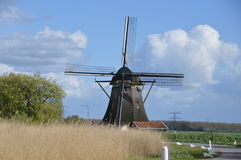 Windmill Around Abcoude Netherlands 2017 Stock Photo