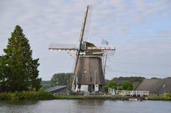 Windmill Around Driemond The Netherlands 2017 Stock Photos