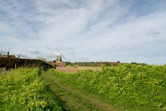 Windmill At Cley-next-the-Sea, Norfolk Royalty Free Stock Photos