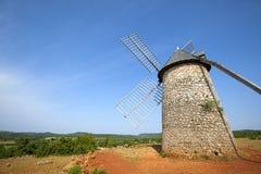 Free Windmill At La Couvertoirade Royalty Free Stock Image - 68361216
