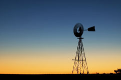 Free Windmill At Sunset Stock Images - 10546544