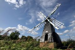 Free Windmill At Wicken Fen Royalty Free Stock Photography - 10945407