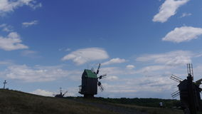 Windmill. Beautiful pictures taken in Ukraine stock images