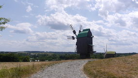 Windmill. Beautiful pictures taken in Ukraine royalty free stock photo