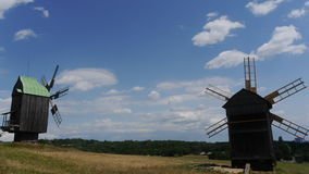 Windmill. Beautiful pictures taken in Ukraine Royalty Free Stock Photography
