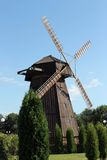 Windmill  in Belarus Royalty Free Stock Photo