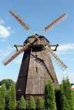 Windmill  in Belarus Royalty Free Stock Image