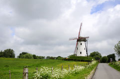 Windmill, Belgium Stock Images