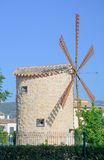 Windmill in Binissalem Royalty Free Stock Images
