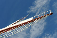 Windmill blades Stock Images