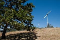 Windmill blades Stock Image