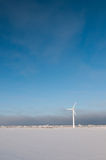 Windmill and blue sky Stock Photography