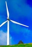 Windmill on Blue Sky Royalty Free Stock Photo