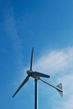windmill in blue sky day Stock Images