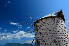 Windmill. Bodrum. Turkey Royalty Free Stock Photo