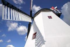 Windmill on Bornholm. Arsdale Molle (windmill on Bornholm), Denmark royalty free stock photo