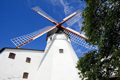 Windmill on Bornholm, Denmark Royalty Free Stock Image