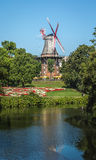 Windmill in Bremen Stock Image