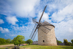 Windmill Brittany Royalty Free Stock Photography
