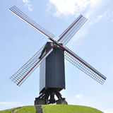 Windmill, Bruges Belgium Royalty Free Stock Image